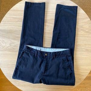 VOLCOM STONE Frickin Modern Fit Black Chino Pant